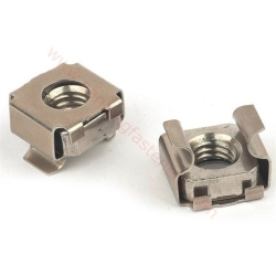 stainless steel square cage nut