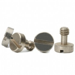 Stainless steel high precision m1.2 m1.4 slotted step pan head micro screws supplier