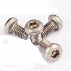 Stainless Steel 304 Pan Head M3 M4 M5 anti-theft pan washer head self tapping screws